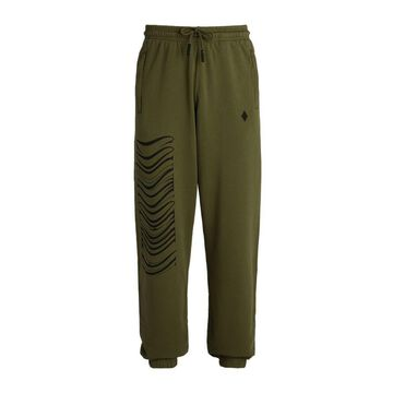 Marcelo Burlon County Of Milan Distorted Logo Sweatpants