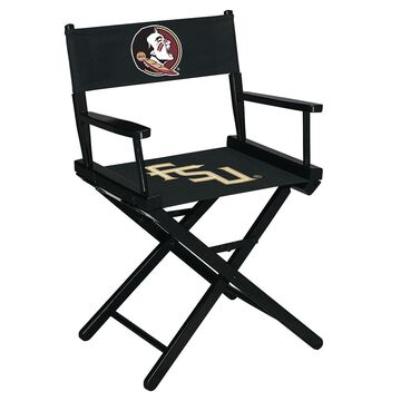 Imperial Florida State Seminoles Black Table Height Director's Chair