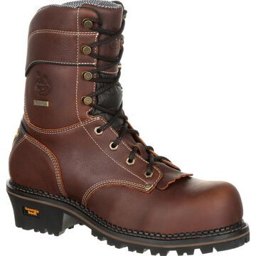 #GB00236, Georgia Boot AMP LT Logger Composite Toe Waterproof Work Boot