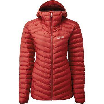 Rab Women's Cirrus Alpine Jacket - Medium - Ascent Red