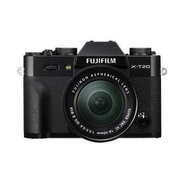 ''Fujifilm X-T20 24.3MP Mirrorless Digital Camera with XC 16-50mm Lens, Black''