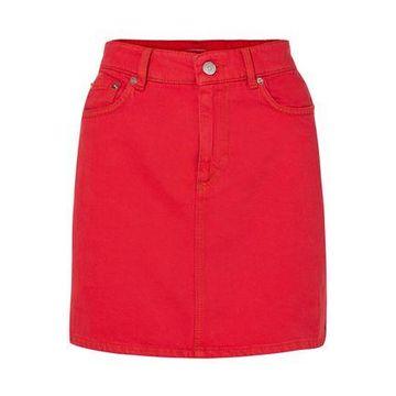 Ganni Denim Mini Skirt
