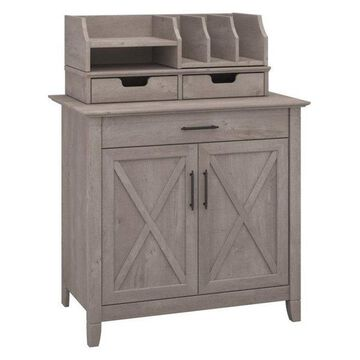 Pemberly Row Storage Cabinet, Washed Gray
