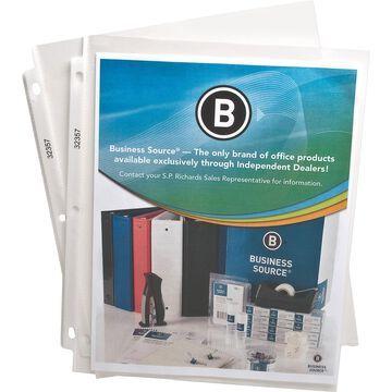 Sheet Protectors, Top Load, 2 mil,Letter, 50 per Box, Clear (Set of 2)