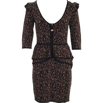 Temperley London \N Brown Viscose Dresses