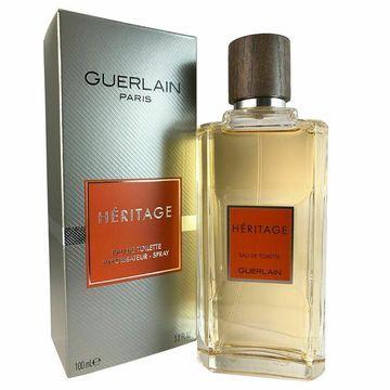 Heritage for Men by Guerlain 3.4 oz Eau de Toilette Spray
