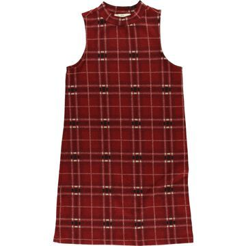Hippie Rose Womens Plaid Sheath Dress