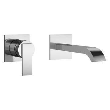 Jacuzzi PP078 Mincio 1.2 GPM Wall Mounted Bathroom Faucet - Less Drain Assembl