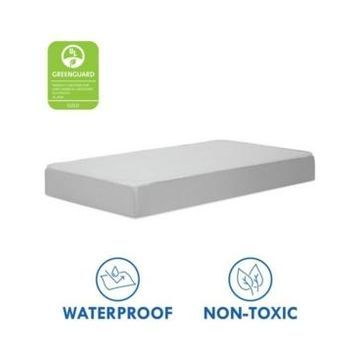 DaVinci Complete Slumber Crib & Toddler Mattress Firm support Lightweight Waterproof Greenguard Gold Certified