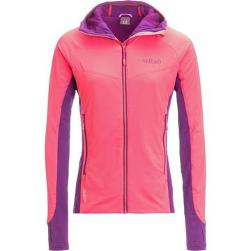 Rab Alpha Flux Hooded Fleece Jacket - Women's
