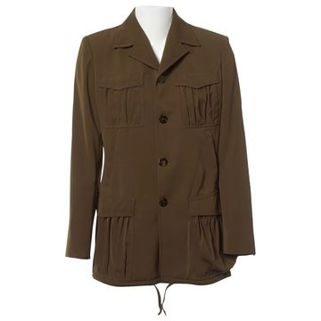 Jean Paul Gaultier Khaki Polyester Jackets