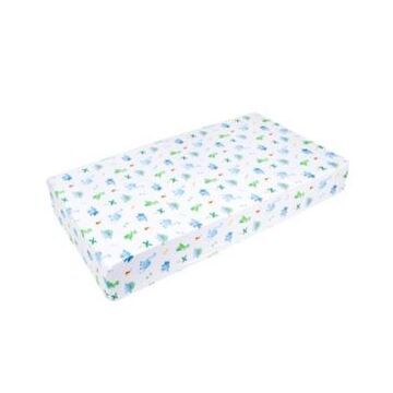 Wildkin's Dinosaur Land Fitted Crib Sheet Bedding
