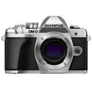 Olympus OM-D E-M10 Mark III Mirrorless Camera Body, Silver
