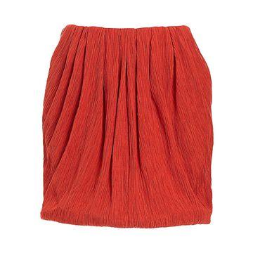 Nina Ricci Cotton & Silk Mini Bubble Skirt