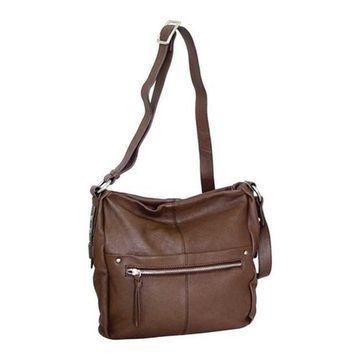 Nino Bossi Women's Piper Crossbody Bag Brown - US Women's One Size (Size None)