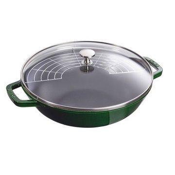 Staub Cast Iron 4.5-qt Perfect Pan, Basil