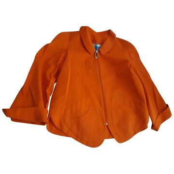 Thierry Mugler \N Orange Cotton Jackets