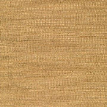 Kenneth James Airi Beige Grasscloth Wallpaper