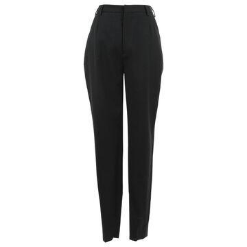 Saint Laurent Black Wool Trousers