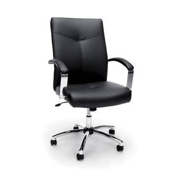 Essentials Collection Executive Conference Chair Black - OFM