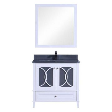 Legion Furniture Legion Furniture Single Sink Vanity w/ Mirror Set, Wh
