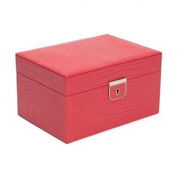 WOLF Palermo Small Leather Jewelry Box