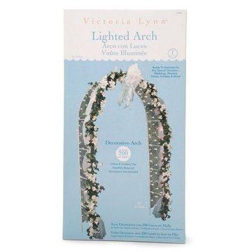 Darice Victoria Lynn Lighted Wedding Arch, 96 Inches