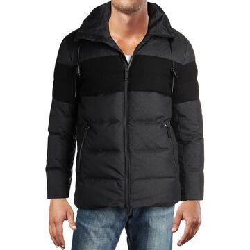 Karl Lagerfeld Paris Mens Winter Down Puffer Coat