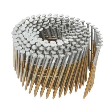 Hitachi 12709 Wire Coil Nails, Hot Dipped Galvanized, 3-1/4