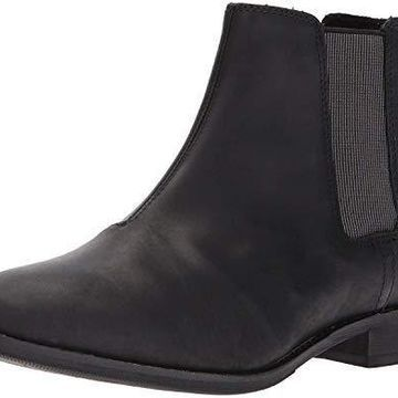Caterpillar Women's Matilda Leather Chelsea Ankle Boot, Black, 5 Medium US