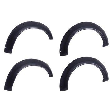 EGR 792754 Bolt-On Look Fender Flare Set of 4; No-Drill; Front And Rear; For Use w/Plastic Bumper;