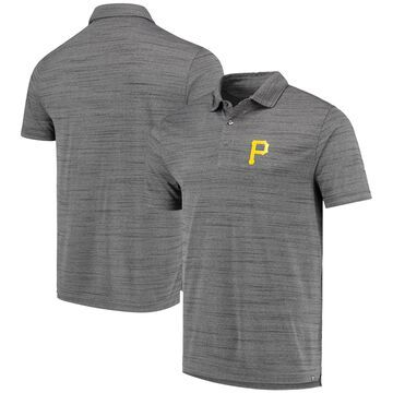 Levelwear Pittsburgh Pirates Gray Sway Polo