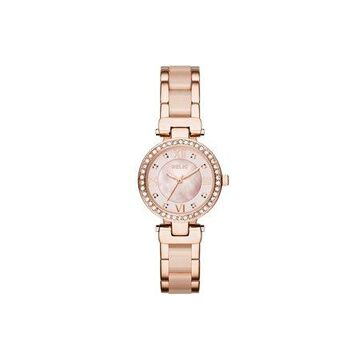 Relic by Fossil Women's Selma Rose Gold and Blush Pink Watch