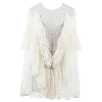 Givenchy White Synthetic Tops