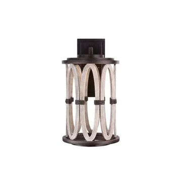 """Kalco Belmont Outdoor 20"""" Outdoor Wall Light in Florence Gold"""