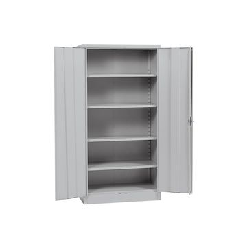 Sandusky Quick Assembly Steel Storage Cabinet - Grey (36