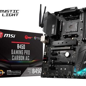 MSI B450 GAMING PRO CARBON AC Socket AM4 AMD B450 SATAIII USB3.1 ATX Motherboard