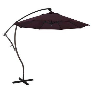 California Umbrella 9' Cantilever Umbrella in Purple