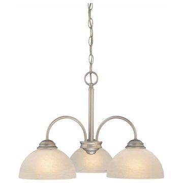 Volume Lighting V2273 Bernice 3 Light 1 Tier Chandelier