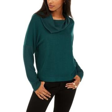 Bcx Juniors' Textured Cowlneck Sweater