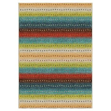 Orian Rugs Sable Stripes Promise Indoor/Outdoor Area Rug