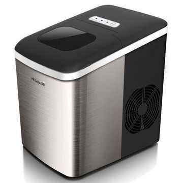 Frigidaire 26lb. Countertop Portable Ice Maker - (EFIC121-SS) Stainless Steel