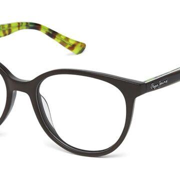 Pepe Jeans PJ3318 C2 Men's Glasses Brown Size 52 - Free Lenses - HSA/FSA Insurance - Blue Light Block Available