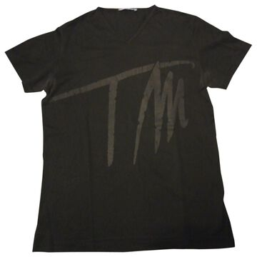 Thierry Mugler \N Black Cotton T-shirts
