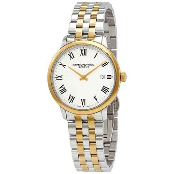 Raymond Weil Toccata Quartz White Dial Men's Watch 5485-STP-00300