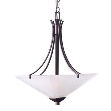 Design House 577379 Torino 2-Light Pendant, Brushed Bronze