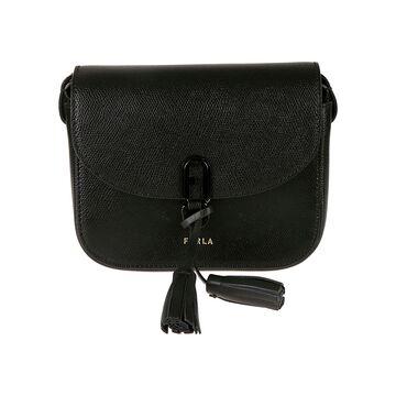 Furla Tassel Detail Shoulder Bag