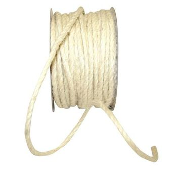 "JAM Paper 1/8"" Jute Cord Ribbon, 25yd. in Ivory   1/8"" x 25yd   Michaels"