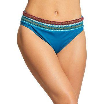 La Blanca Running Stitch Hipster Bikini Bottom