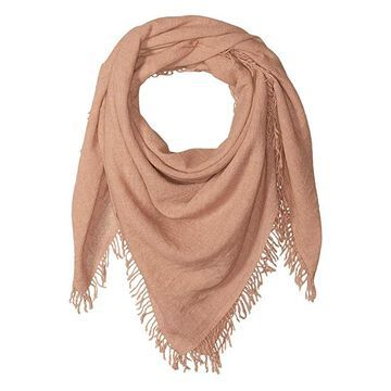 Chan Luu 100% Cashmere Scarf with Tied Tassel Fringe At Ends (Boulder) Scarves